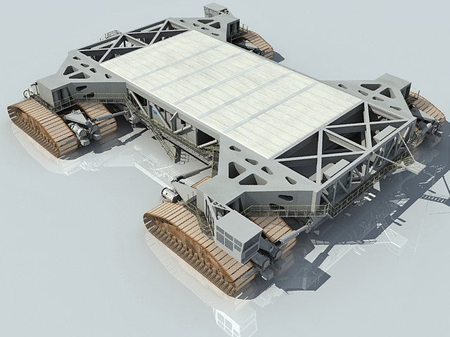 Shuttle Crawler Transporter Model