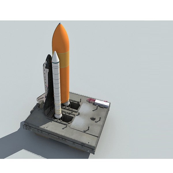 Launch Pad 3D Model Nasa