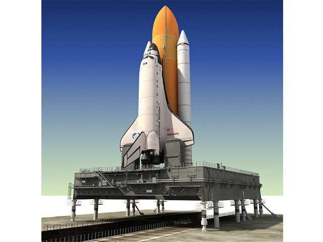 Shuttle with Mobile Launch Platform