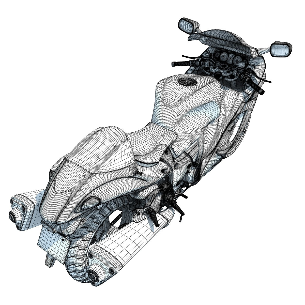 Motorcycle 3D Models