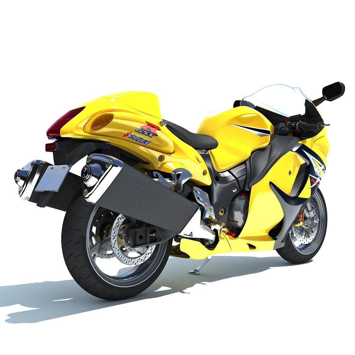 Suzuki Motorcycle 3D Model