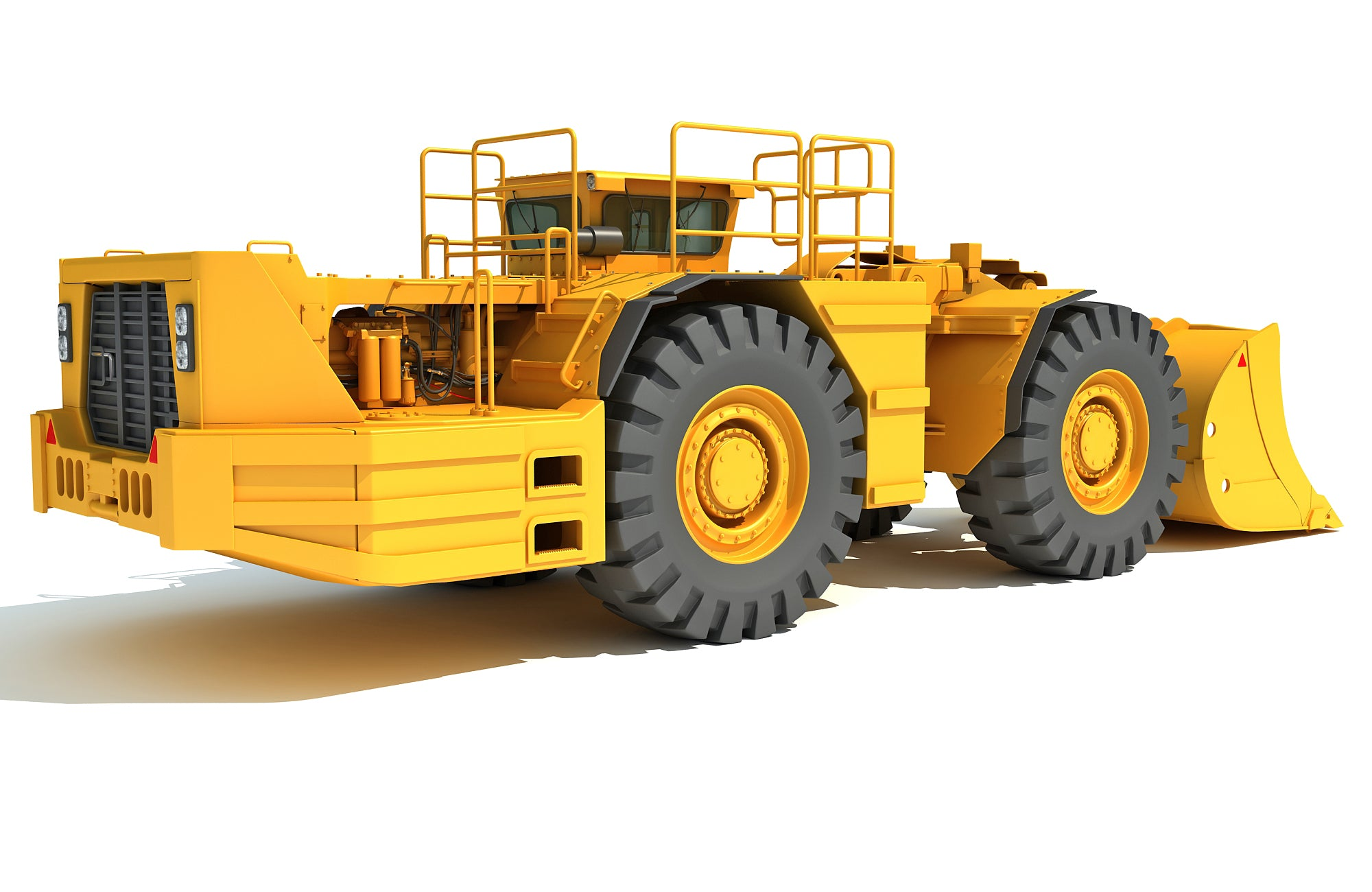 Mining Hard Rock Loader