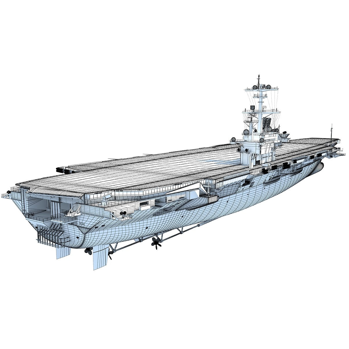 Aircraftcarrier 3D Model
