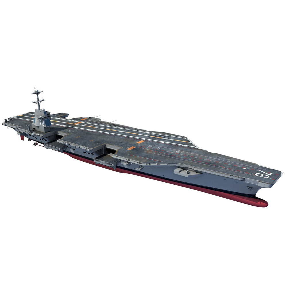Gerald R. Ford Aircraft Carrier Model