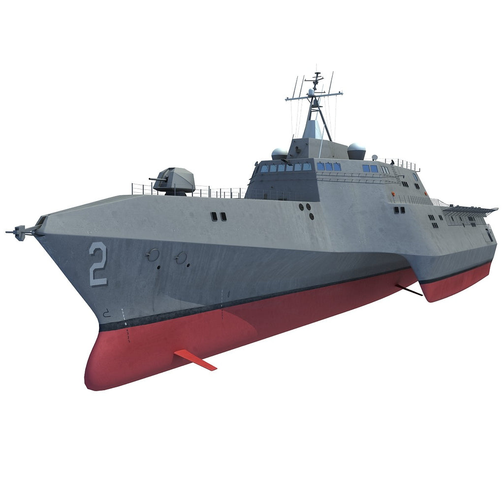 USS Independence LCS-2 Trimaran Ship