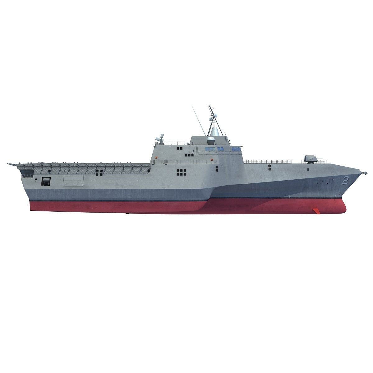 Independence LCS 3D Model