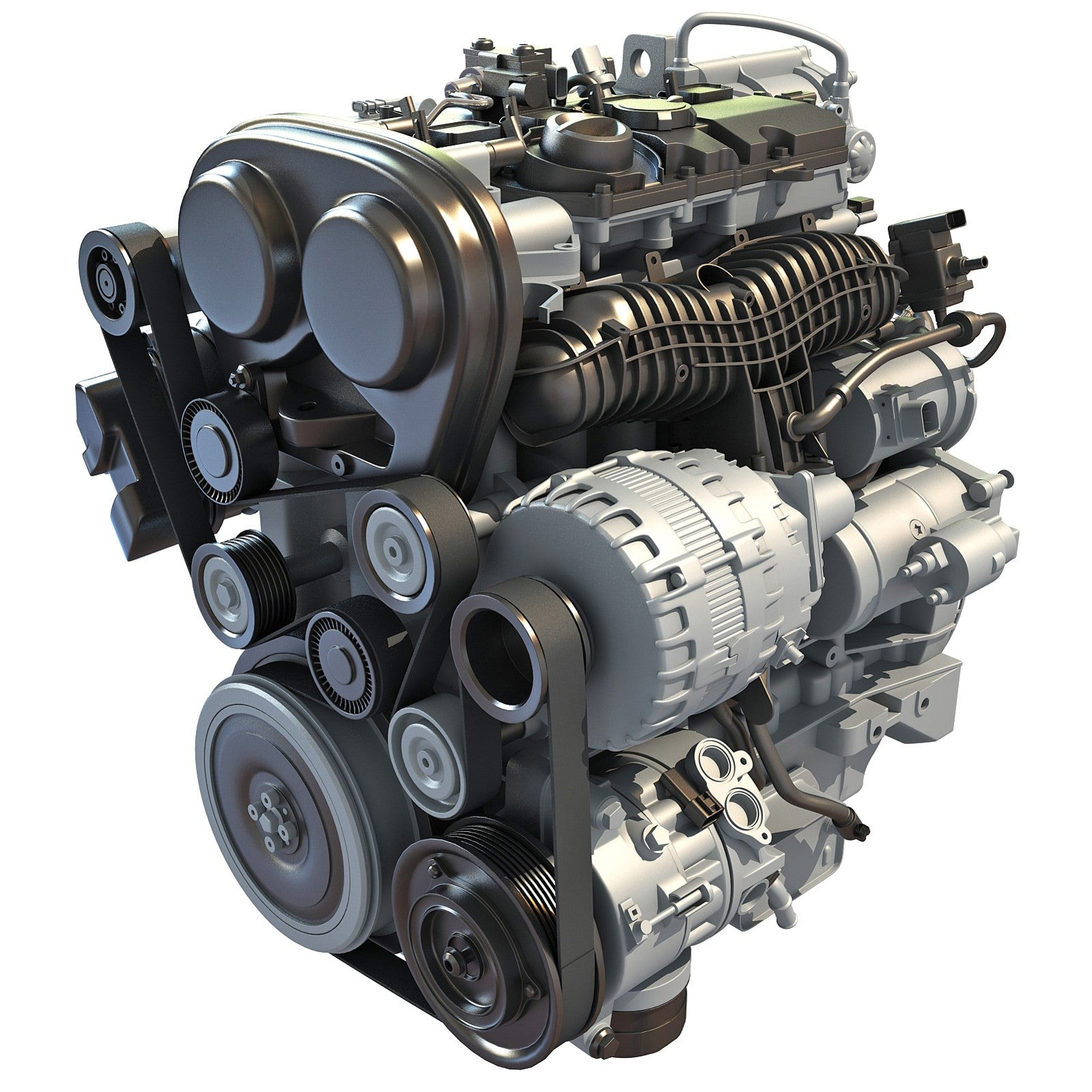 Petrol Engine 3D Model