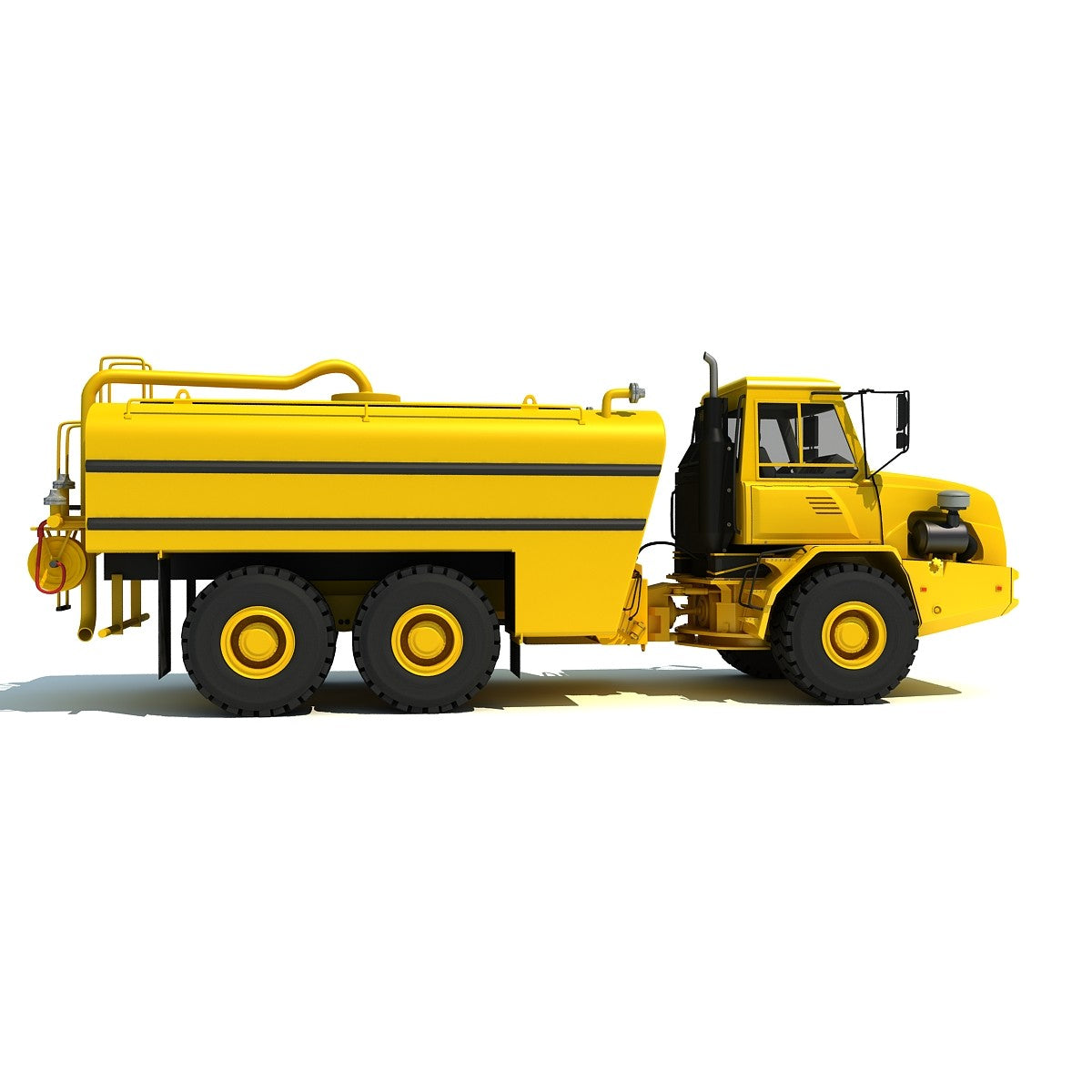 Water Wagon 3D Model