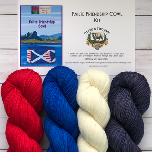 Failte Friendship Cowl Kit (Twain)