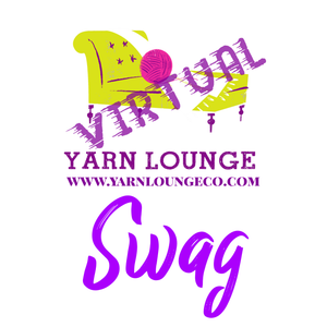 Virtual Yarn Lounge Yarn Groupie Extraordinaire SWAG Bag