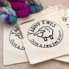 Yarny Ewes Cotton Drawstring Bag