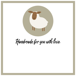 Handmade for You with Love Tags - Blank
