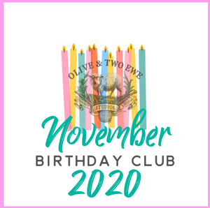 Birthday Yarn Club 2020