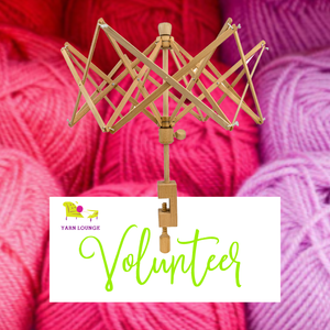 Volunteer to Wind Yarn at Yarn Lounge Lakeland