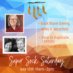 Super Sock Saturday Class/Experience Registration