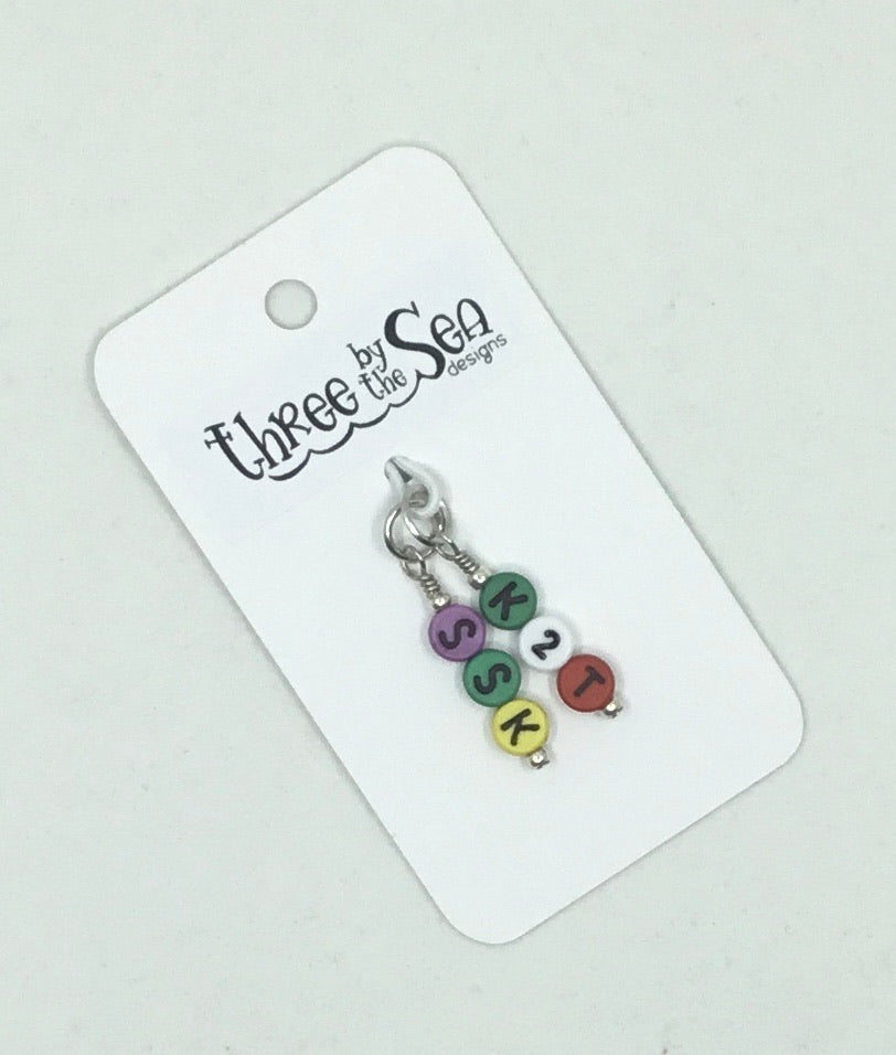Three By The Sea - Decrease Stitch Markers