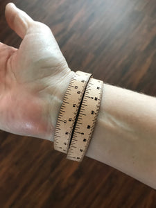 Leather Wrist Ruler by I Love Handles