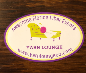 Yarn Lounge Static Cling