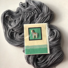 Alpaca Pin w/Recycled Card