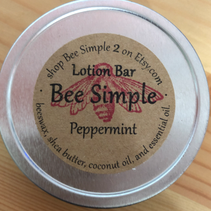 Bee Simple Lotion Bar