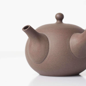 BROWN JINSUI KYUSU 180ml | Japanese Teapot - Zen Wonders Tea