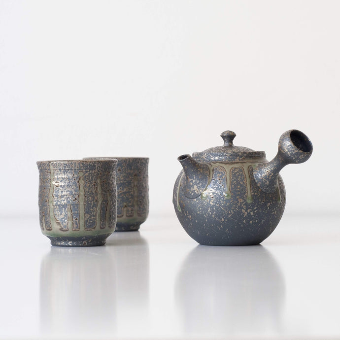 TOKUTA KYUSU + YUNOMI 230ml | Japanese Tea Set - Zen Wonders Tea