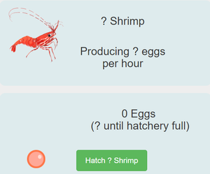 Ether Shrimp Farm Crypto Game