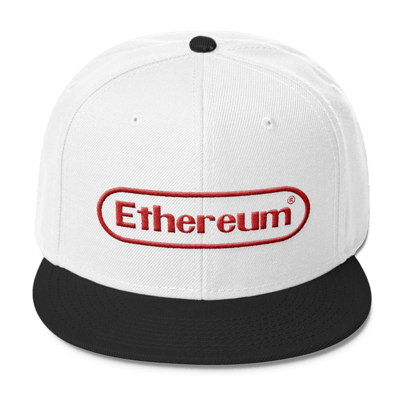 ETHEREUM NINTENDO Two Tone Baseball Hat