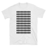 Ethereum Diamond Pattern Tshirt White