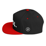 Bitcoin Bitcoin Hodl Hat Black and Red