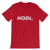 HODL Tshirt Bitcoin Red