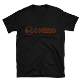 Monero TShirt Black Art Deco