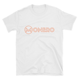 Monero TShirt White Art Deco