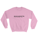 Nakamoto Clothing Co. Sweatshirt Pastel Pink