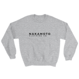 Nakamoto Clothing Co. Sweatshirt Heather Grey