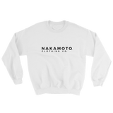 Nakamoto Clothing Co. Sweatshirt White