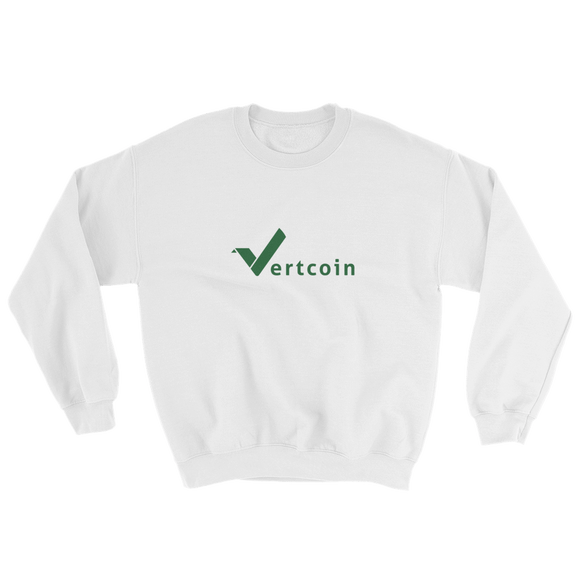 Vertcoin Wordmark Sweatshirt