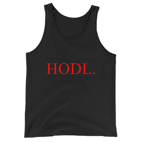 HODL Tank Top - Nakamoto Clothing Co.