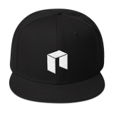 NEO Snapback Baseball Hat Black