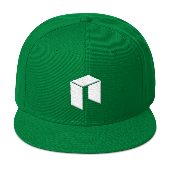NEO Snapback Baseball Hat Green