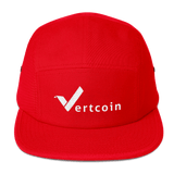 Vertcoin Baseball Hat Red
