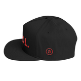 Bitcoin Hodl Hat Black