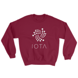 IOTA Tangle Sweater Maroon