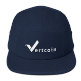 Vertcoin Baseball Hat Navy