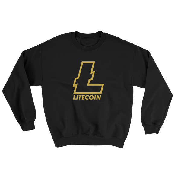 Litecoin Gold Black Sweatshirt