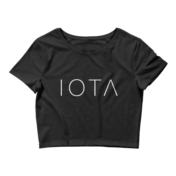 IOTA Crop Top Black