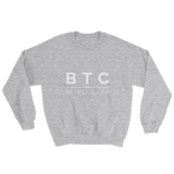 BTC XXI Sweater in Heather Grey