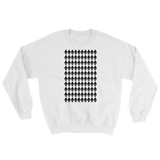 Ethereum Diamond Pattern Sweater White