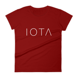 IOTA Womens Tshirt Deep Red