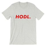 HODL Tshirt Bitcoin Heather Grey
